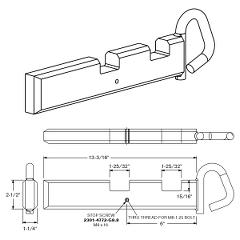 Shoot Bolt For Folding End Fla